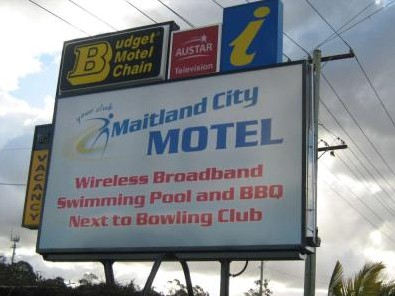 Maitland City Motel - Accommodation Broome
