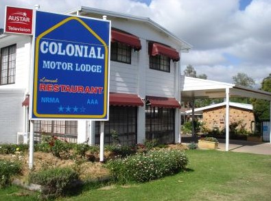 Colonial Motor Lodge - Accommodation Broome