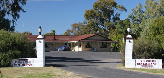Burke and Wills Motor Inn - Moree - Accommodation Broome