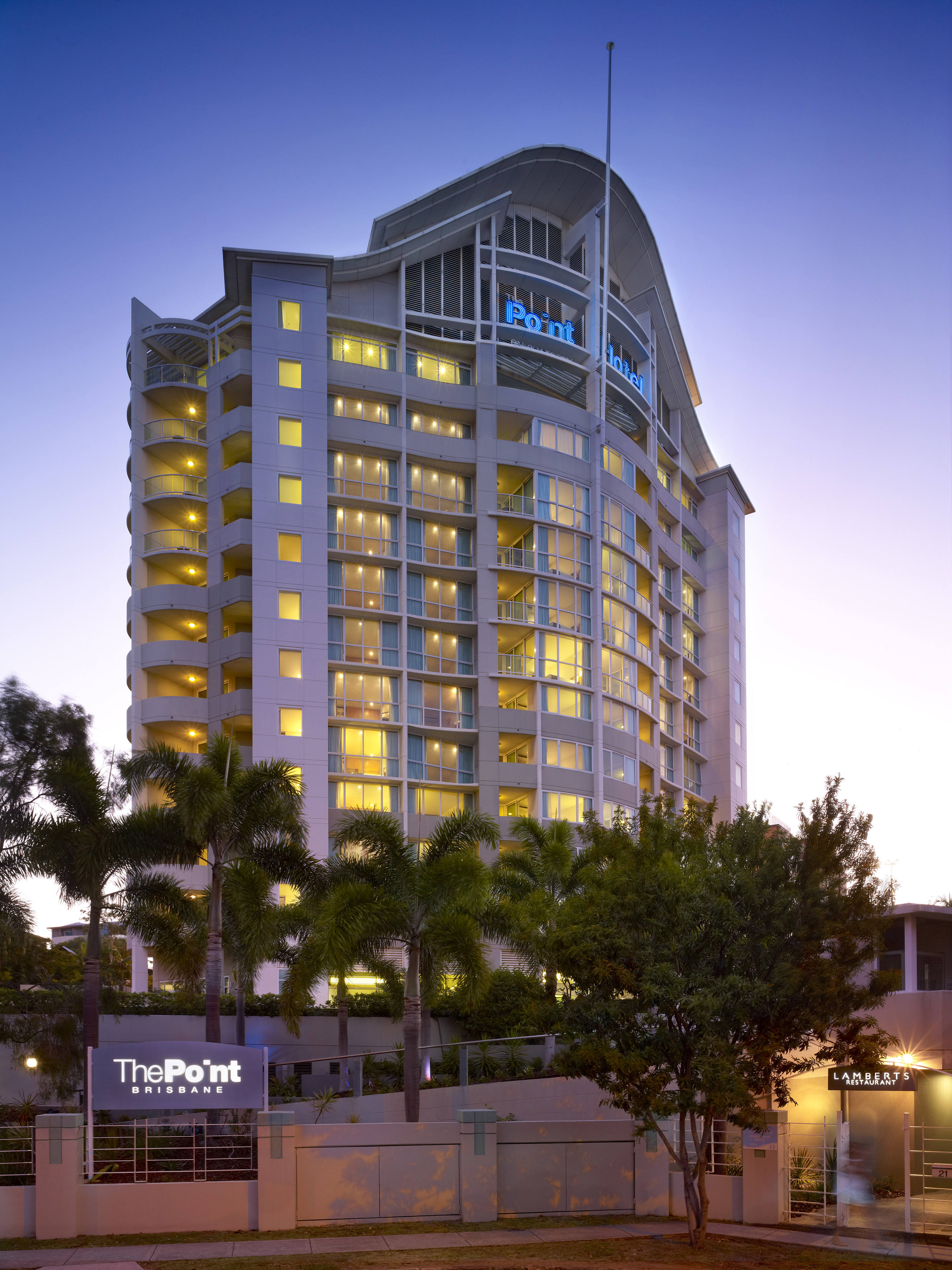 The Point Brisbane - Accommodation Broome