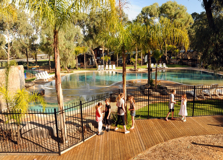BIG4 Renmark Riverfront Caravan Park - Accommodation Broome