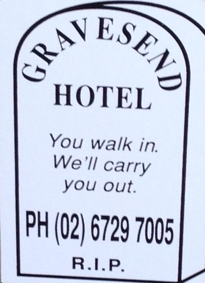 Gravesend Hotel - Accommodation Broome