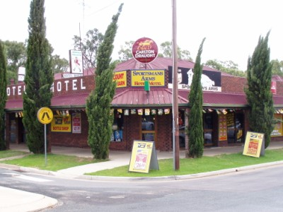 Sportsmans Arms Hotel Motel - Accommodation Broome