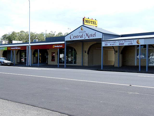 Gin Gin Central Motel - Accommodation Broome
