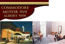 Commodore Motor Inn - Accommodation Broome