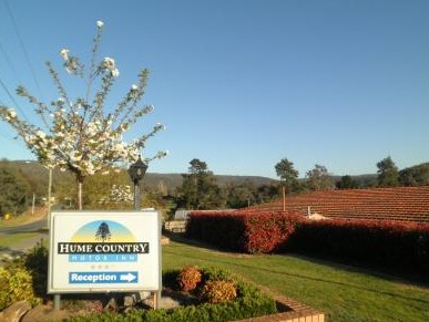 Hume Country Motor Inn - Accommodation Broome