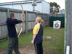 Bairnsdale Archery Mini Golf  Games Park - Accommodation Broome