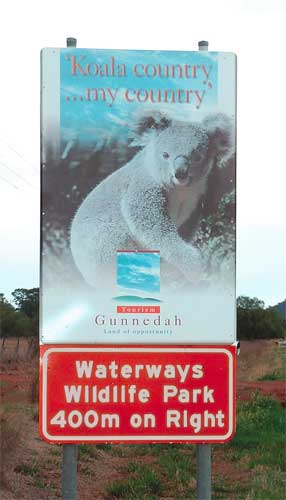 Waterways Wildlife Park - Accommodation Broome