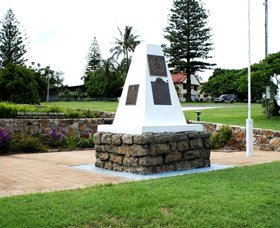 Dunwich War Memorial - Accommodation Broome