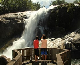 Murray Falls Girramay National Park - Accommodation Broome