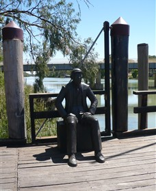 Captain John Egge Statue - Accommodation Broome
