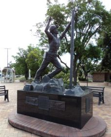 Miners Memorial Statue - Accommodation Broome