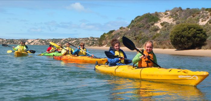 Canoe the Coorong - Accommodation Broome