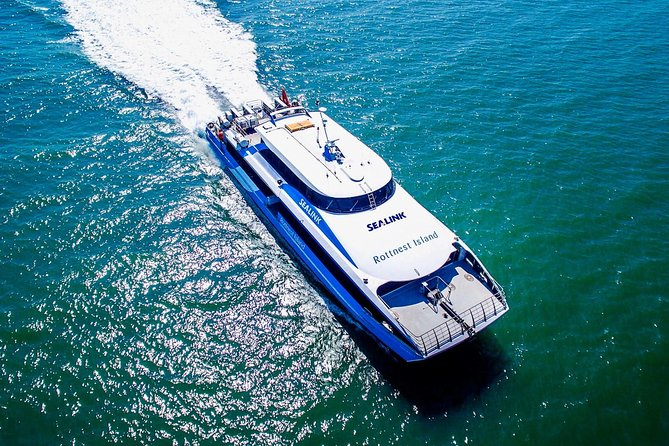 Rottnest Island Roundtrip Ferry from Perth with Transfer