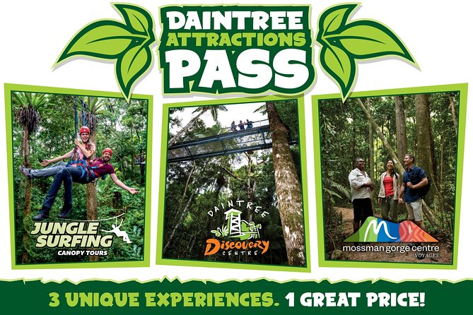 Daintree Atttractions Pass The Best of the Daintree in a Day - Accommodation Broome
