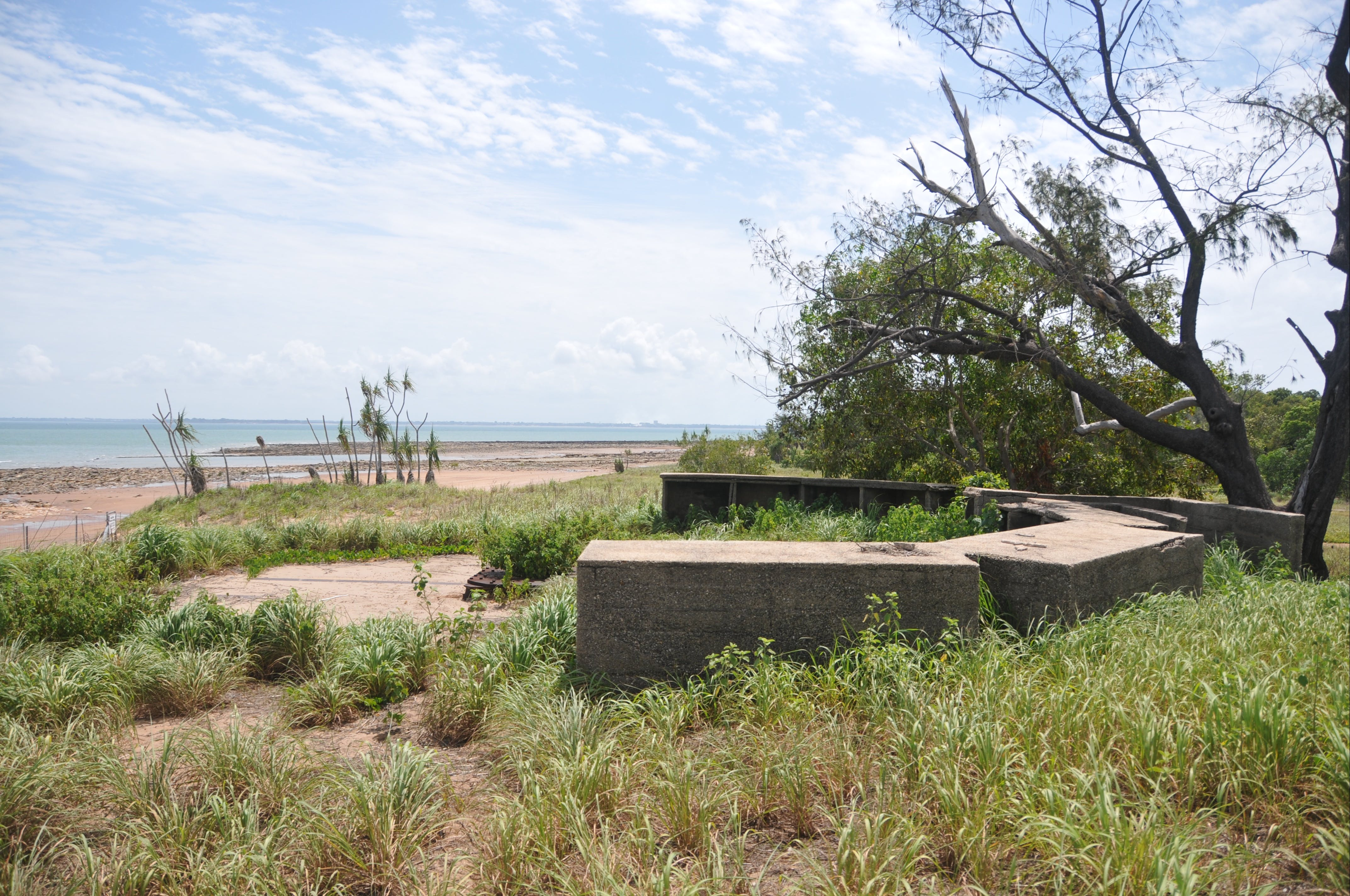 WWII Gun Emplacement Wagait Beach - Accommodation Broome