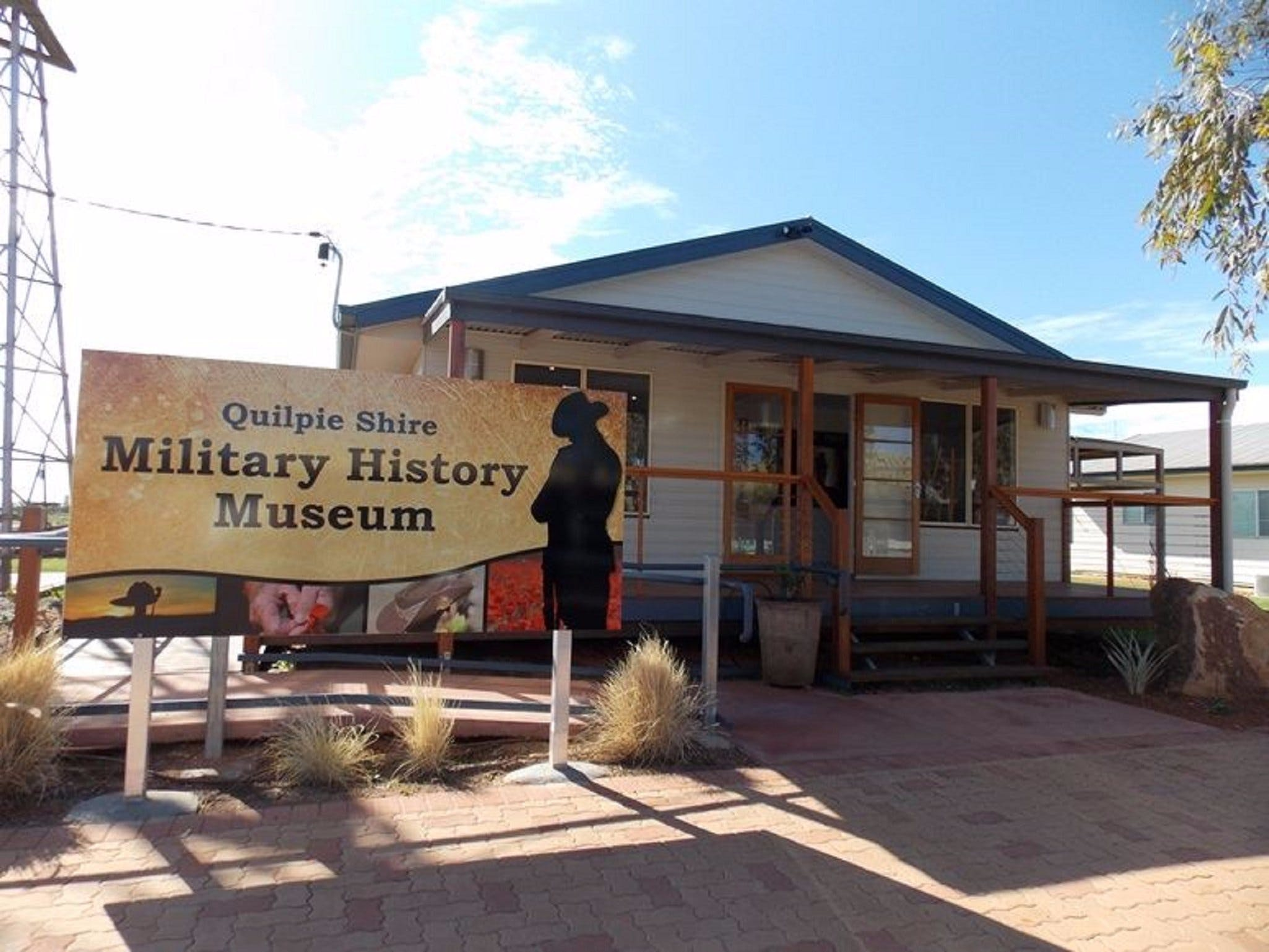 Quilpie Shire Military History Museum - Accommodation Broome