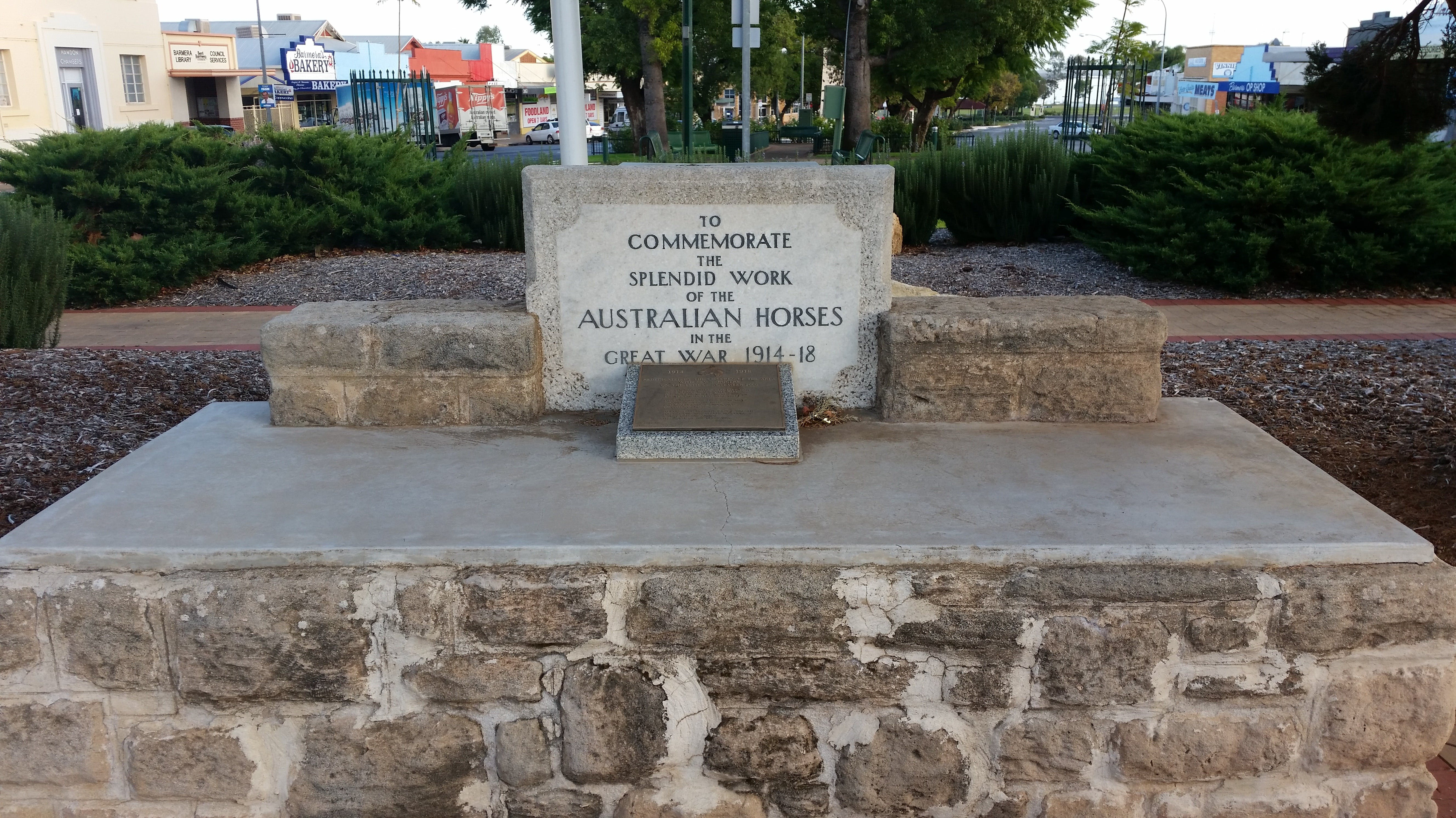 Barmera Horse Trough - Accommodation Broome