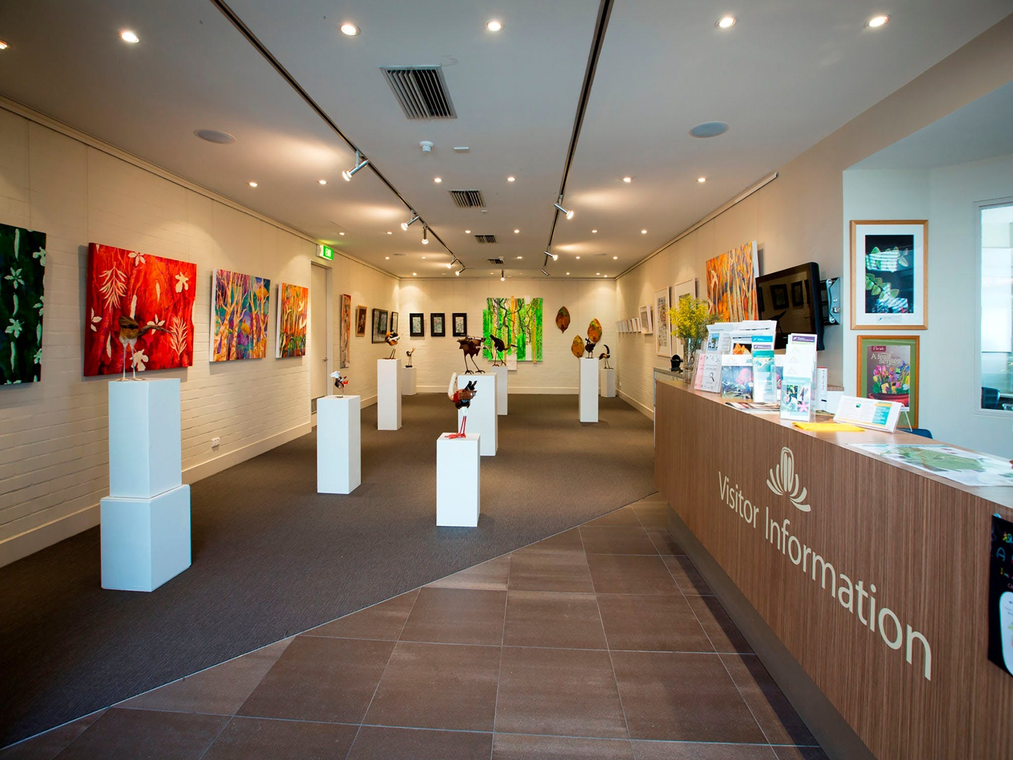 Australian National Botanic Gardens Visitor Centre Gallery - Accommodation Broome