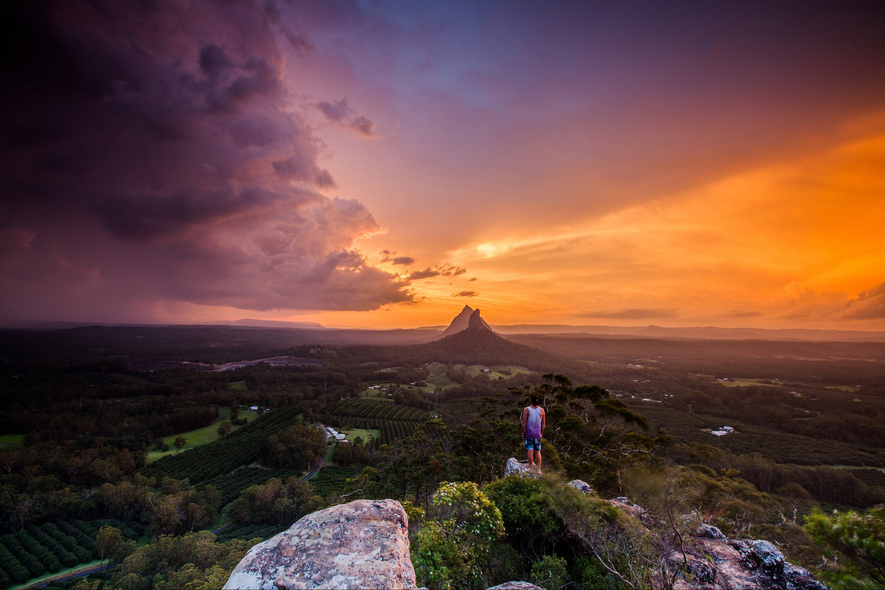 Glass House Mountains - Accommodation Broome