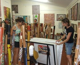Top Didj and Art Gallery - Accommodation Broome