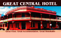 Great Central Hotel - Accommodation Broome