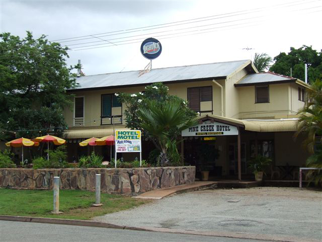 Pine Creek Hotel/Motel - Accommodation Broome