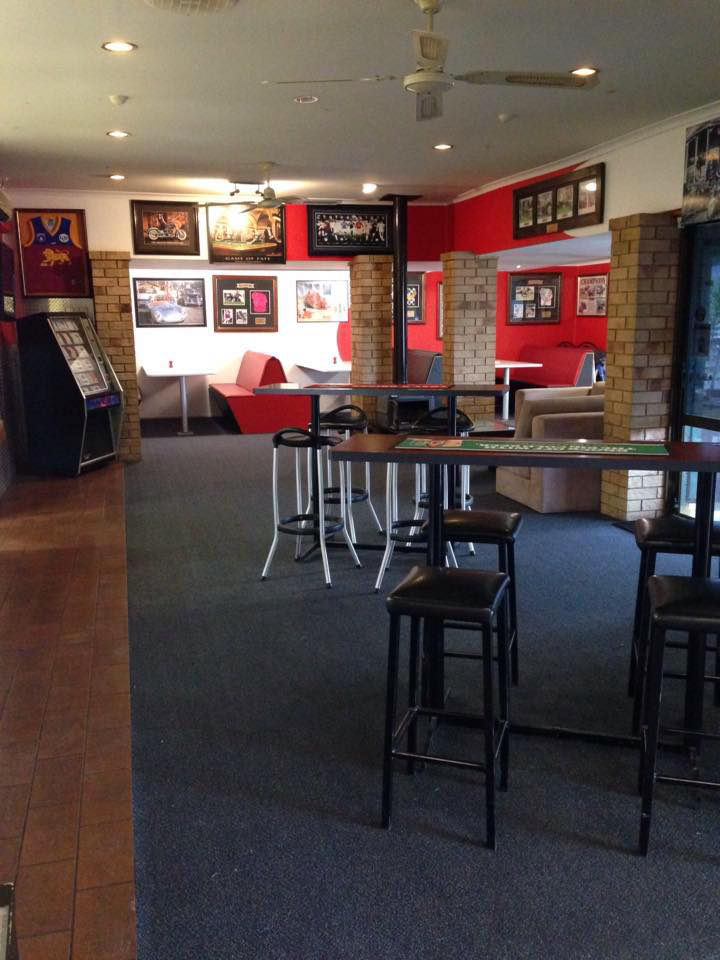 The Back Page Sports Bar  Grill - Accommodation Broome