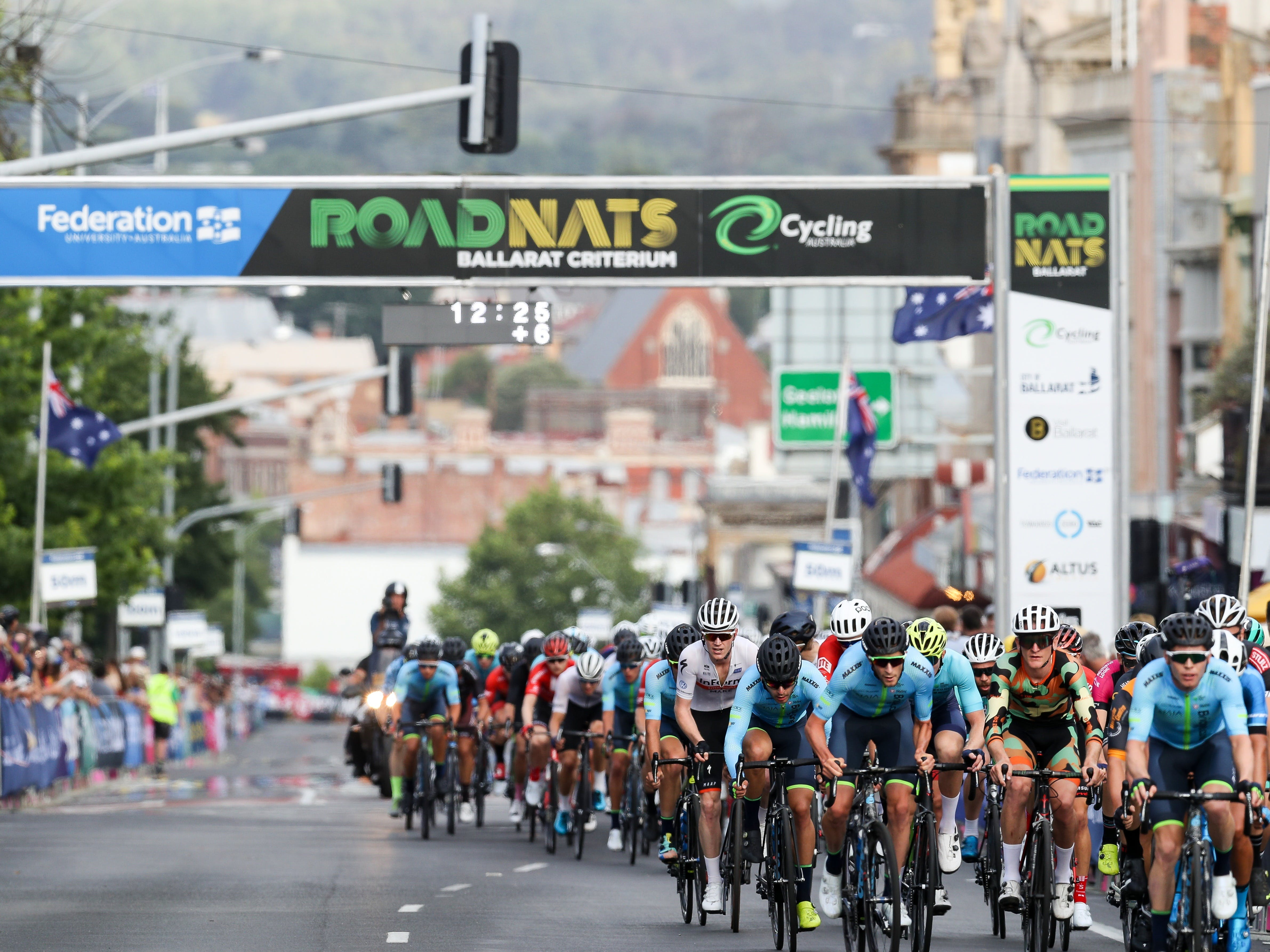 Federation University Criterium National Championships - Ballarat - Accommodation Broome
