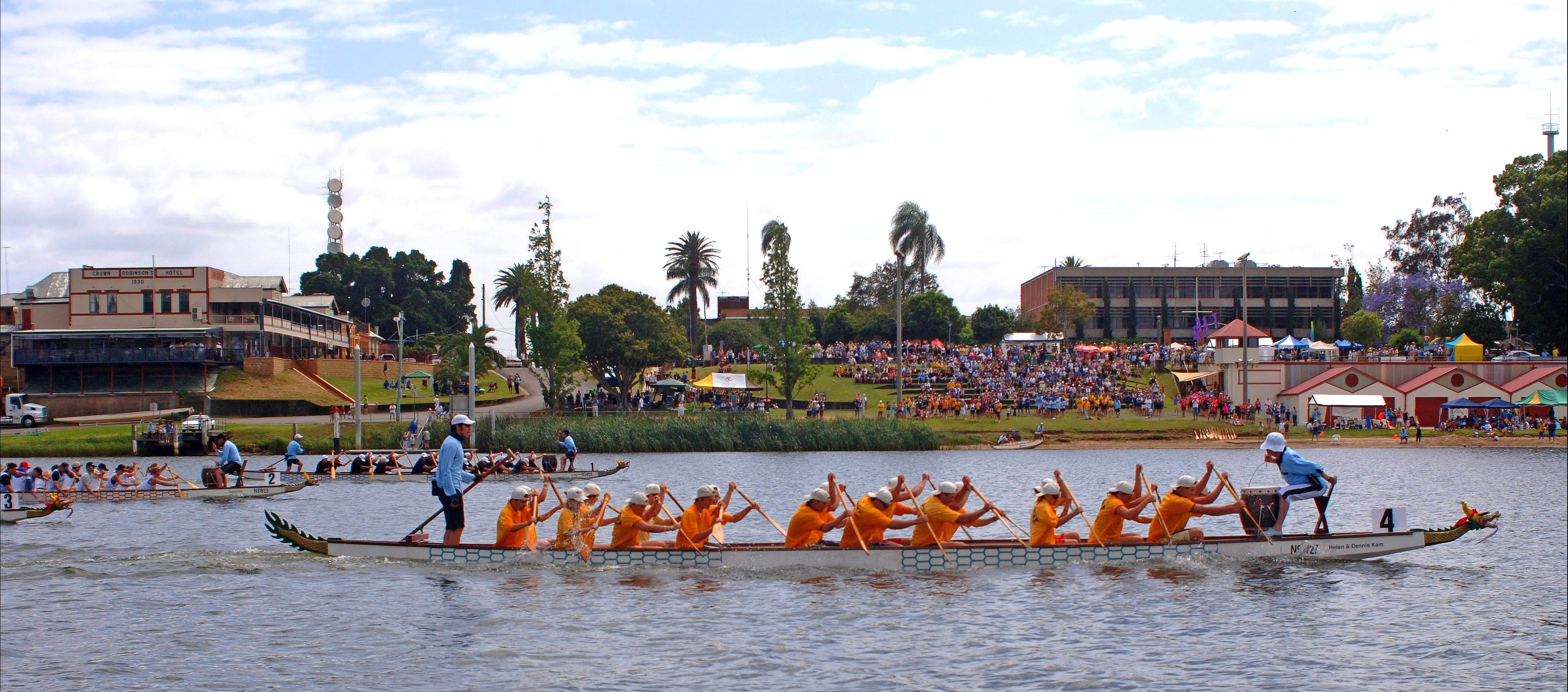 Jacaranda Dragon Boat Races - Accommodation Broome