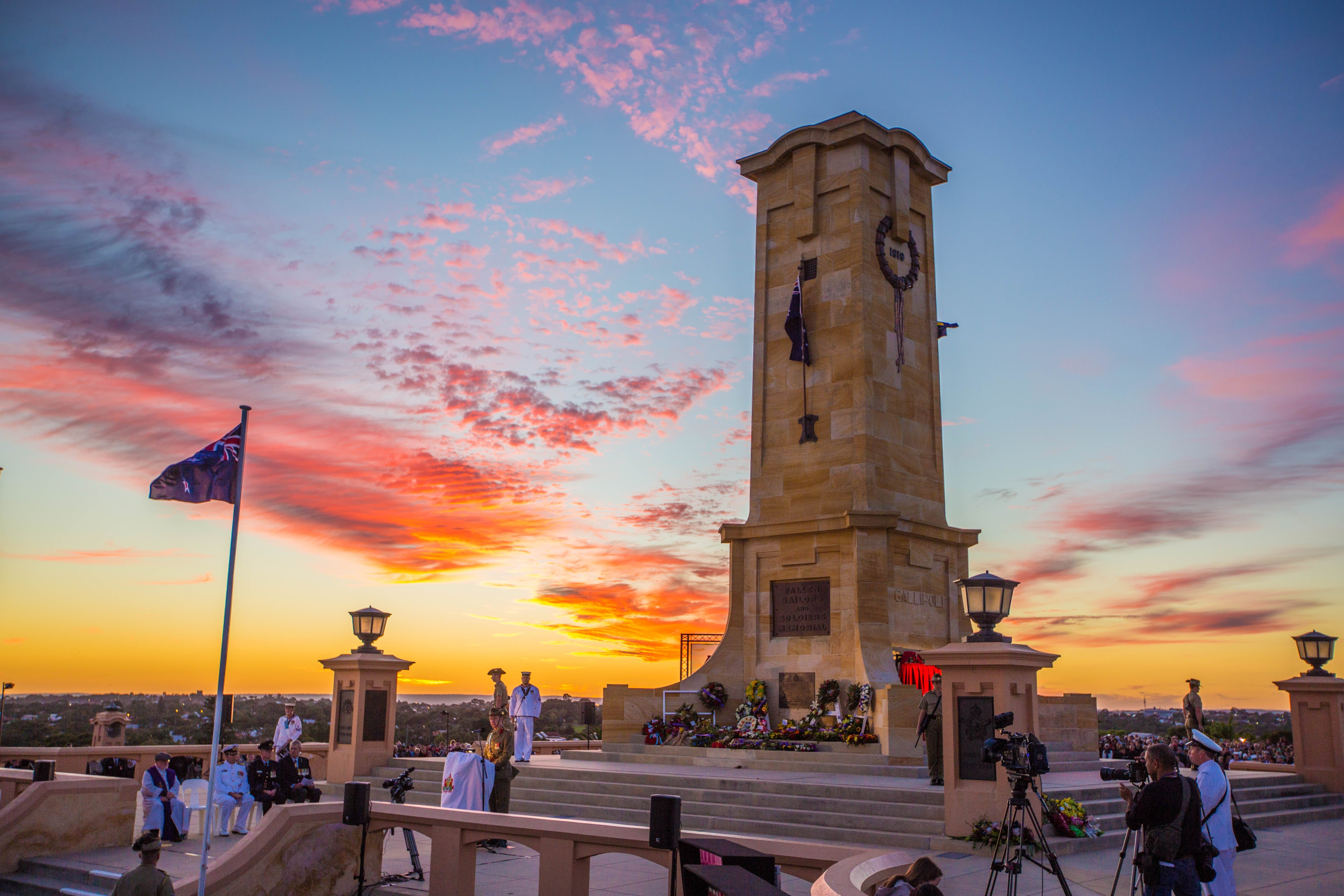 Anzac Day - Fremantle - Accommodation Broome