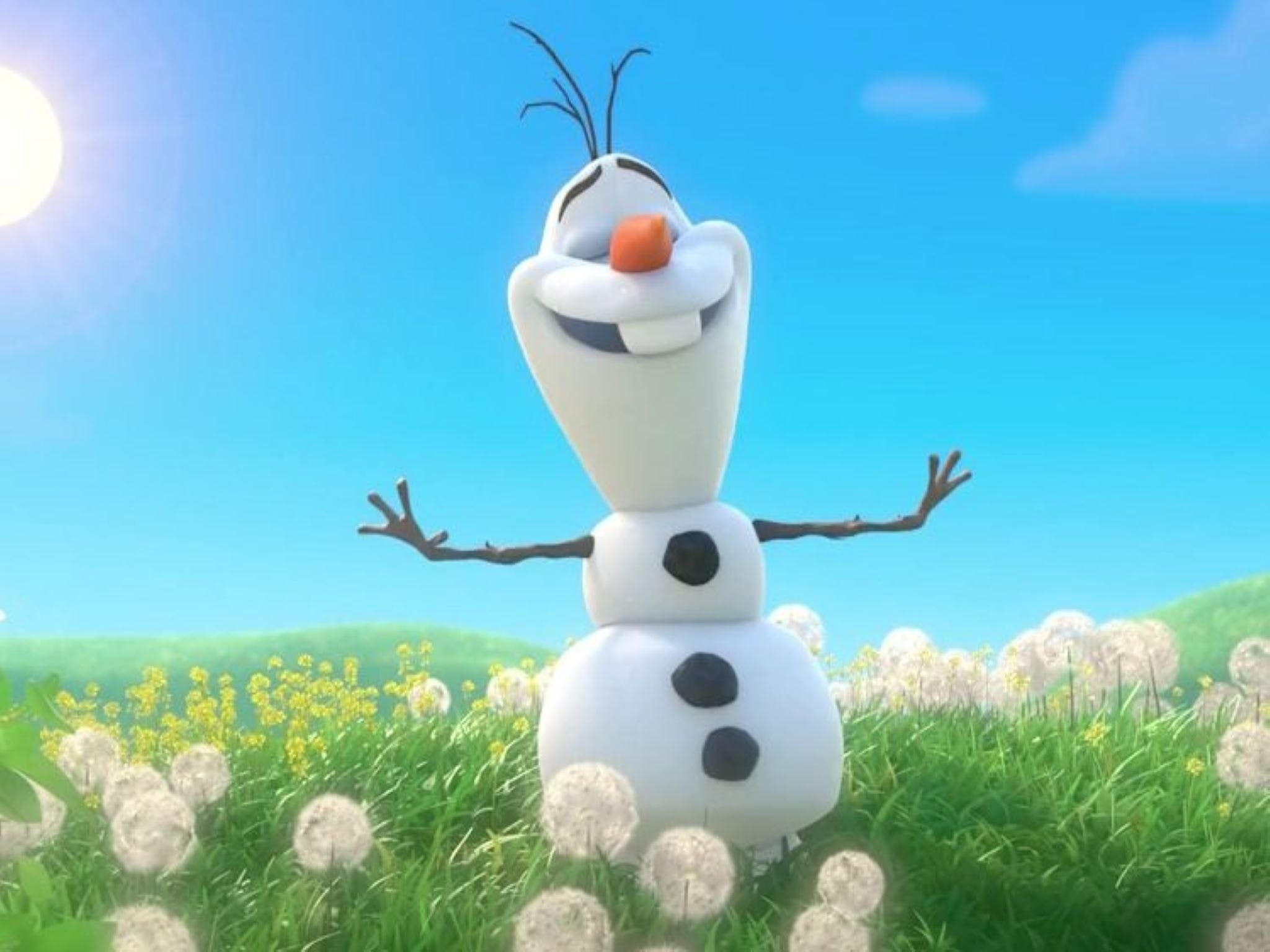 Meet Olaf from Frozen - Accommodation Broome