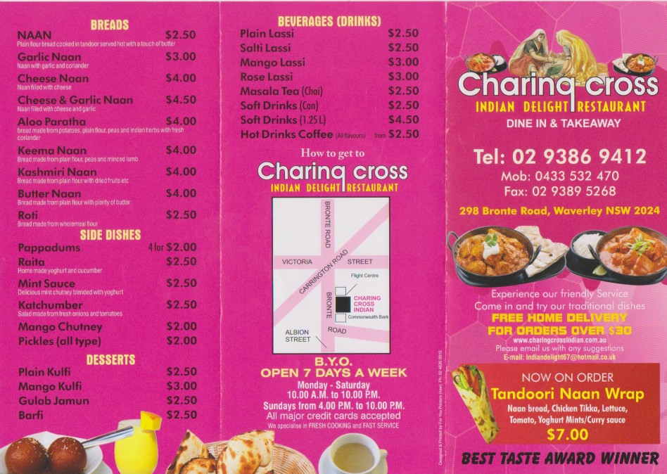Charing Cross Indian Delight Restaurant