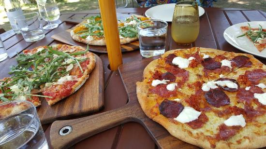 Bank Street Wood Fired Pizza and Gardens - Accommodation Broome