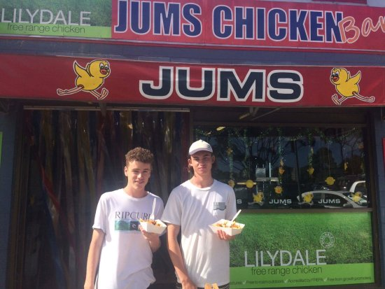 Jums Bbq Chickens - Accommodation Broome