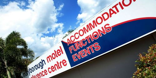 Maryborough Motel  Conference Centre - Accommodation Broome