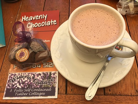 Stanthorpe's Heavenly Chocolate at Wisteria Cottage - Accommodation Broome