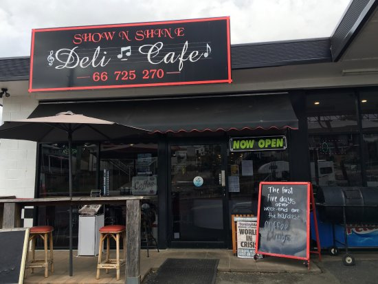 Show  Shine Deli Cafe - Accommodation Broome