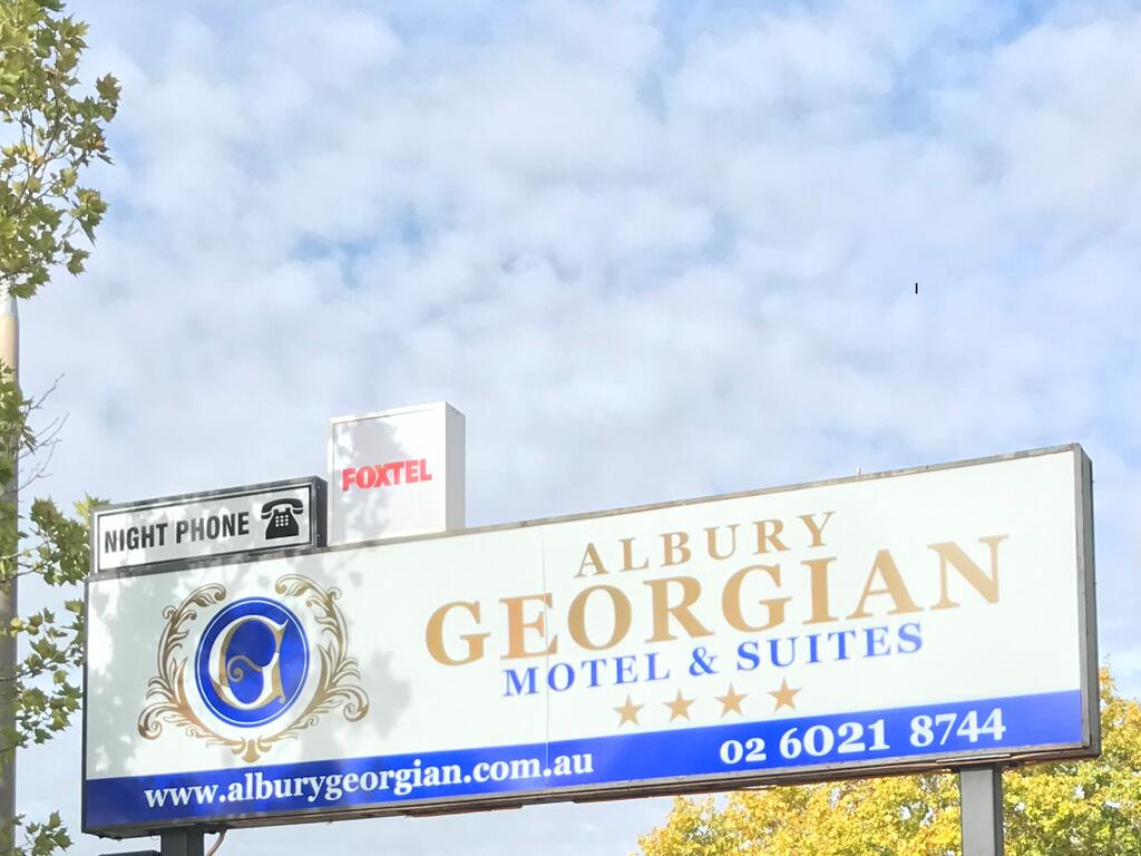Albury Georgian Motel  Suites - Accommodation Broome
